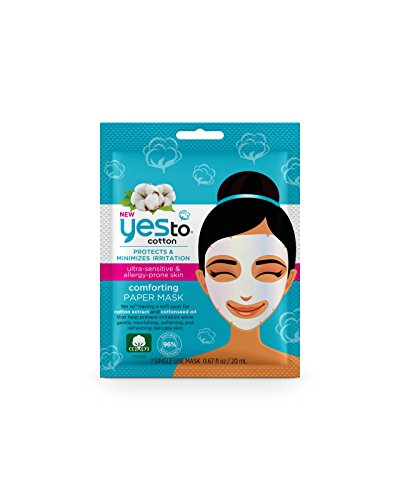 Yes To Cotton Comforting Paper Mask