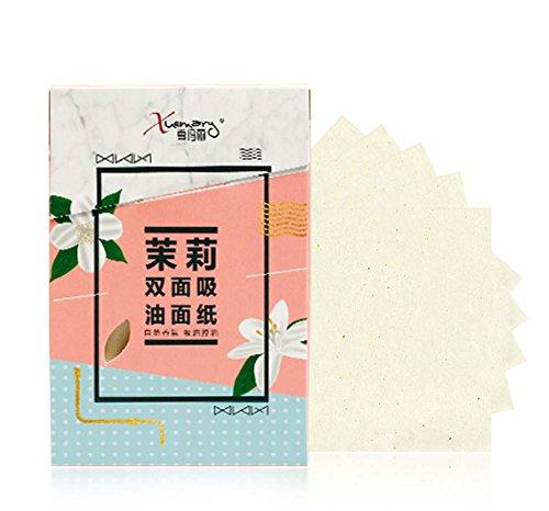 Men Women Summer Oil Control Blotting Paper Skin Blotting Paper 300 Sheets, Jasmine Scent by Koala Superstore (Image #1)