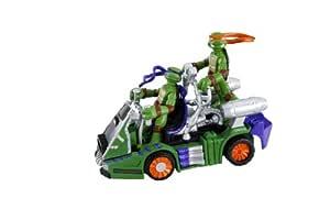 Mini Tortugas NINJA mutantes Donatello moto-slider: Amazon ...