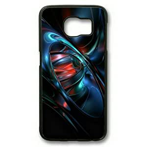 Personalized Case, Sakuraelieechyan Color Fast Black Sides Hard Plastic Case for Samsung Galaxy S6 Edge