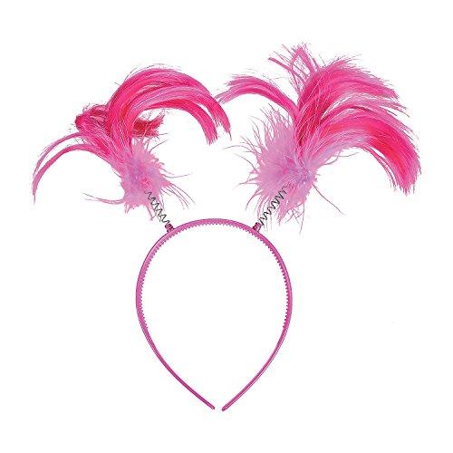 Pink Team Spirit Head Boppers