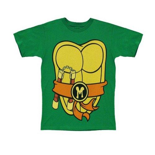TMNT Teenage Mutant Ninja Turtles Michelangelo Costume