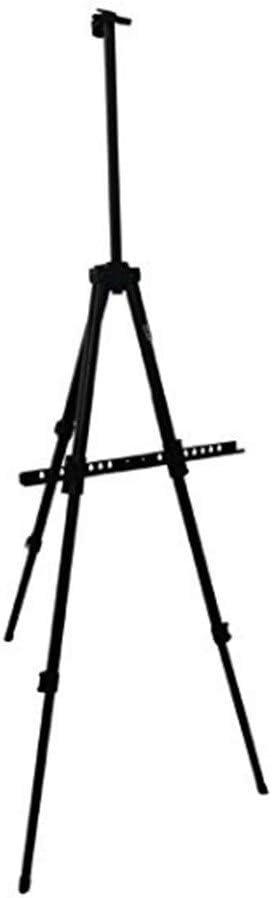 イーゼル ポータブルアルミイージースタンド-ディスプレイ用のデザインと軽量の三脚アーティストイージングスタンドペイント、 (色 : A, サイズ : A)