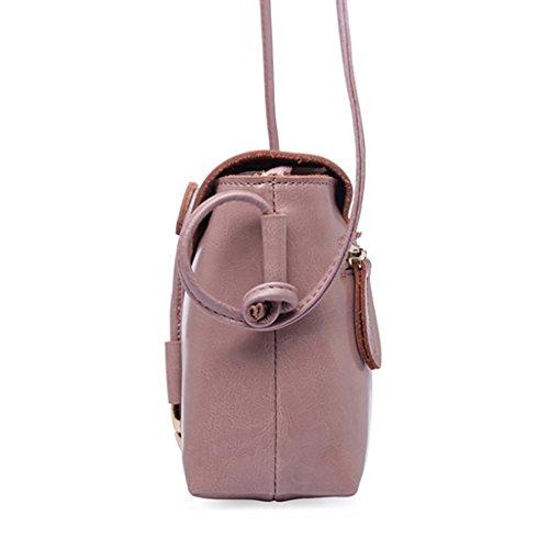 Unloading And Pink Bags Uk Genuine Bag Leather Shoulder Mena Color Handle Soft Retro Women Loading Shoulder Solid ORwq1zx841