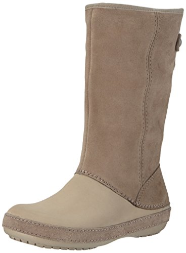 6229578210 Crocs Women s Berryessa Tall Suede Boot - Import It All