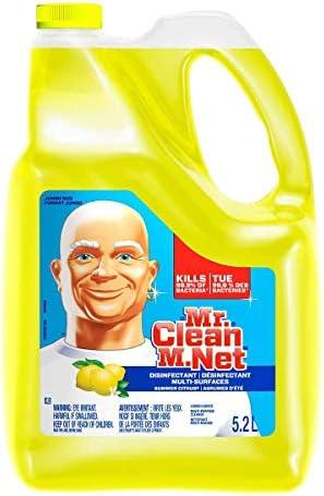 Mr. Clean Summer Citrus Liquid Multi Purpose Cleaner, 176 Fl.Oz / 5.2 L