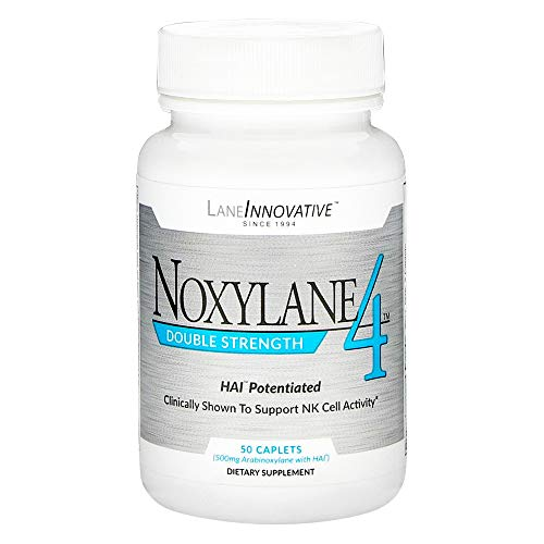Lane Labs - Noxylane4 Double Strength, Supports Immune Protection, Supports Peak NK Cell Activity and T and B Cell Defense * (50 - Caplets 130
