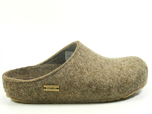 Haflinger Unisex-adult Grizzly Michl Slippers Turf
