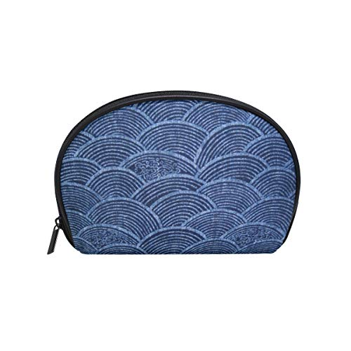 Bag Avon It The (Perfectly Customized Makeup Bag Authentic Japanese Indigo Girls Travel Cosmetic Bag Womens Toiletry Organizer)