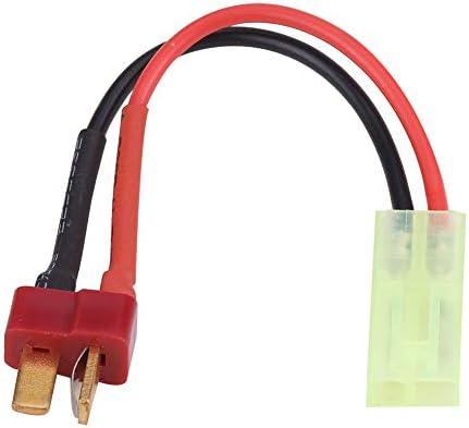 Noir + Rouge connecteur de Prise en Plastique 3 en 1 T Dilwe Prise Femelle de Type T t/él/écommande v/éhicules et Jouets t/él/écommand/és adaptables pour t/ête FUTABA//JST//Adaptateur de Chargeur
