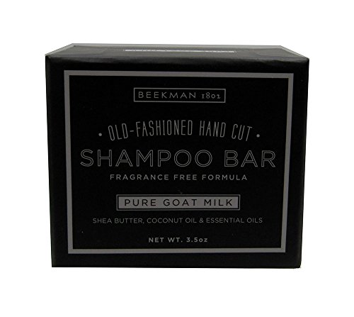 Goats Milk Shampoo - Beekman 1802 Old Fashion Hand Cut Shampoo Bar (Pure Goat Milk)