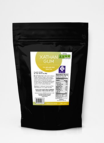 Save $$ MD.LIFE NON-GMO Gluten Free Xanthan Gum 12oz - USA Packaged & Filled in a Dedicated Gluten & Nut Free Facility