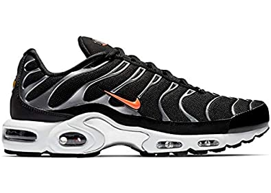 finest selection 4760f 0b130 Amazon.com | Nike Air Max Plus TN SE Black/Hyper Crimson ...
