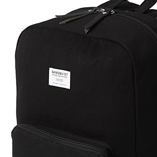 Sandqvist Black Backpack Messenger Ground Kim Bag rrnYC