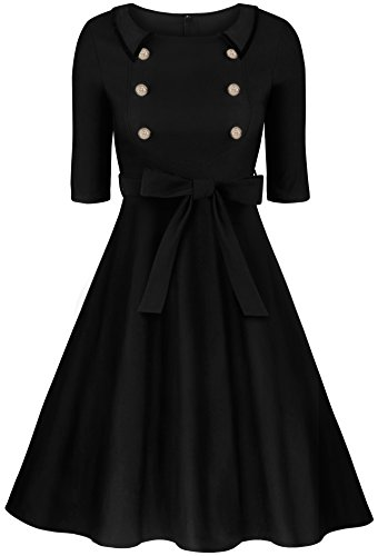 Buy little black dress 3 4 sleeves - 7