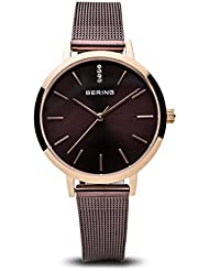 BERING Time 13434-265 Women Classic Collection Watch with Stainless-Steel Strap and scratch resistent sapphire...