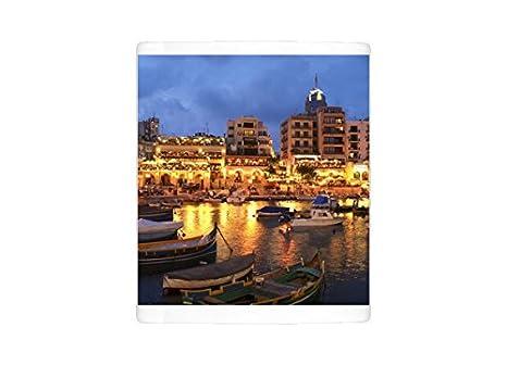 Amazoncom Mug Of Evening Across Spinola Bay With Restaurants St