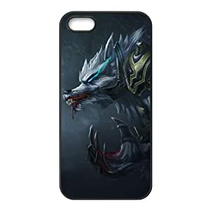 iPhone 4 4s Cell Phone Case Black League of Legends Tundra Hunter Warwick OIW0452472