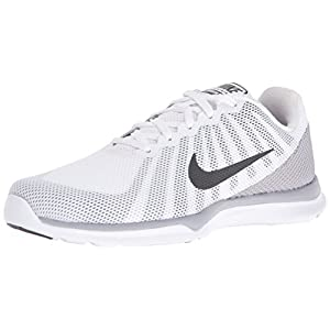 NIKE Women's in-Season TR 6 Cross-Trainer-Shoes, White/Anthracite/Wolf Grey/Stealth, 8 B US