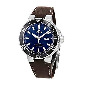 Oris Aquis Big Day Date Reloj automático para hombre con esfera azul 01 752 7733 4135-07 5 24 10EB 1