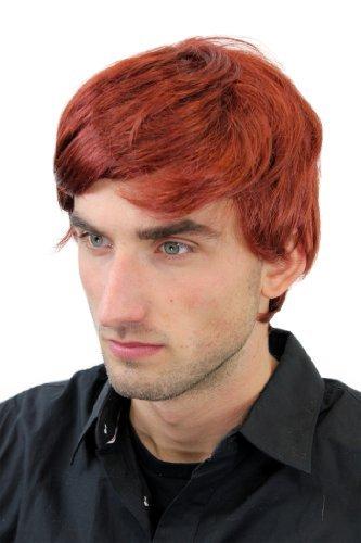 Courte perruque pour homme, style jeune et