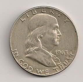 1963-D Circulated Franklin Half Dollar