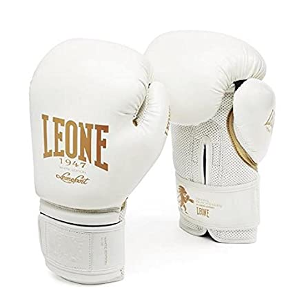Blanco Leone 1947 GN059 Guantes de Boxeo Adulto 16OZ Unisex