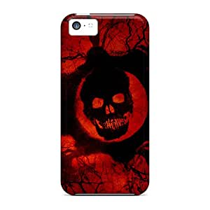 DannyLCHEUNG Iphone 5c Shockproof Hard Cell-phone Cases Custom HD Gears Of War 3 Game Official Pattern [lpO11846DgSQ]