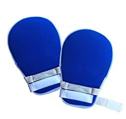 My Finger Control Mitts | Ultimate Hand Protector Padded Mitts to Support Medical Treatments and Prevent Self Harm with Loop Velcro Closure and No Finger Separators | Universal Fit on Any Hand Size