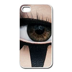Monogrammed Custom Cool Eye Game MIRRORS EDGE For Iphone 4/4S Cover