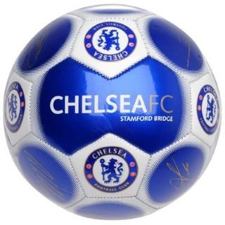 Official Chelsea FC Signature Football Blue Size 5 ()
