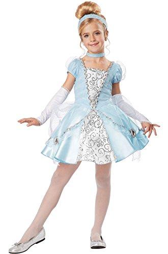 California Costumes Cinderella Deluxe Child Costume, (Deluxe Cinderella Child Costumes)