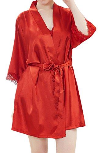Camicia Rot M notte donna da Mala Mantel pwfYxq54