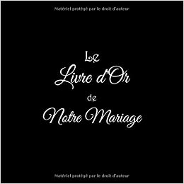Amazonfr Le Livre Dor De Notre Mariage Livre Dor