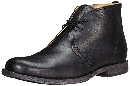 Frye Mens Phillip Chukka Boot Pelle Vintage Nera