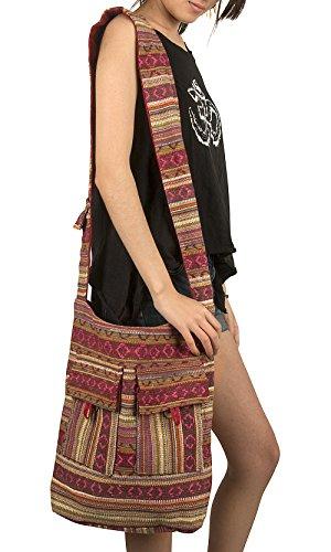 Fashion Fair Trade (Woven Large Hobo Shoulder Bag Everyday Market School Camping Hospital Laptop Women Beach Fashion Sling Slouch Handbag (Woven Red))
