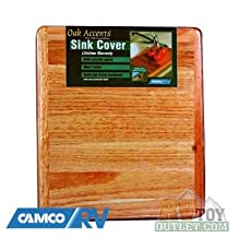 Wooden RV Sink Cover Cutting Board
