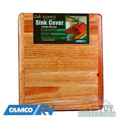 Amazon Com Wooden Rv Sink Cover Cutting Board Kitchen Dining