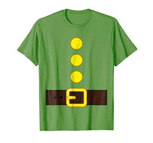 GREEN DWARF COSTUME T-shirt Matching Group Halloween Kids]()