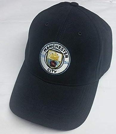 Manchester City Cappello Con Logo Della Squadra  Amazon.it  Sport e ... 3204b5a265eb