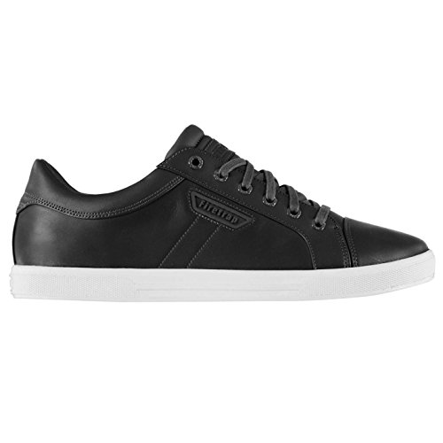 Firetrap Heren Kapitein Cook Trainers Schoenen Lace Up Tonale Stitching Retro Grijs
