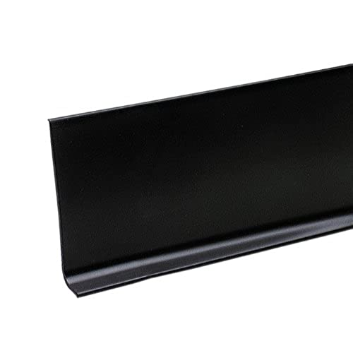 Baseboards And Trim Amazoncom - 6 inch black cove base