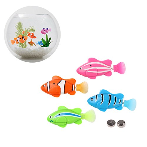 Which is the best swimming fish toy for cats on amazon for Swimming fish cat toy
