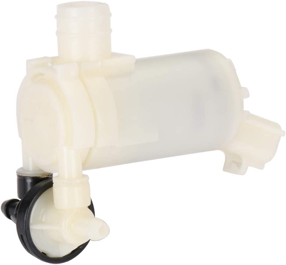 Front Rear INEEDUP GO-1021 8260A217 Front Windshield Washer Pump Motor Windscreen Wiper Pump Replacement fit for 2011 2012 2013 2014 2015 Mitsubishi Outlander