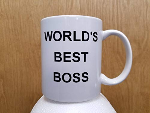World39;s Best Boss Coffee Mug Michael Scott TV