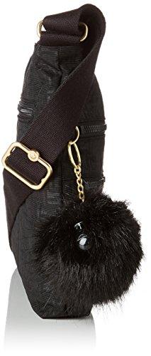 Pylon black Taille Bandoulière Noir Alvar Kipling Sacs Emb Unique Femme 0WP8qv0ORc