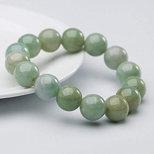 NW 1776 Les bracelets en jadéite naturelle de Chine ont un certificat de  bijoux (perles de 13.5mm x 15)  Amazon.fr  Bijoux 8ba3804c5798