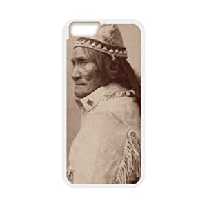 Chiricahua Apache Geronimo iPhone 6 Plus 5.5 Inch Cell Phone Case White DIY TOY xxy002_917845