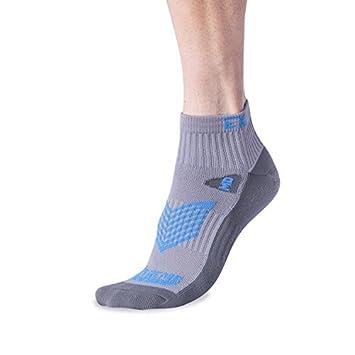 Ciclismo Running calcetines - alto rendimiento absorbe la humedad calcetines Ultra transpirabilidad no Blister 3 colores, Blue 5 Pack: Amazon.es: Deportes y ...