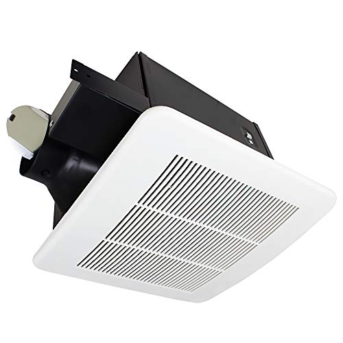 Bathroom Super Quiet Exhaust Fan - BV Ultra-Quiet 150 CFM, 2.0 Sones Bathroom Ventilation & Exhaust Fan